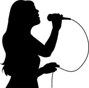 singing in karaoke